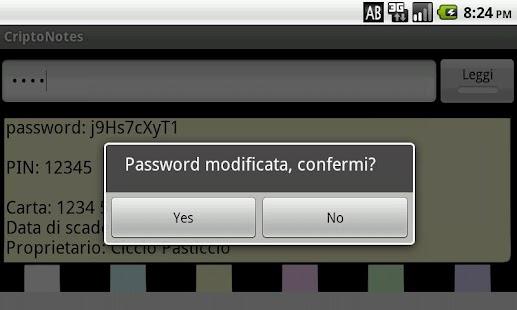 CriptoNotes- screenshot thumbnail