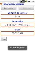 Screenshot of Oráculo da Loteria