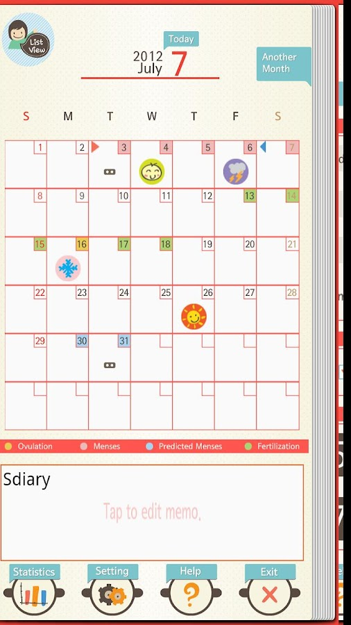 S'Diary (Pro) - screenshot