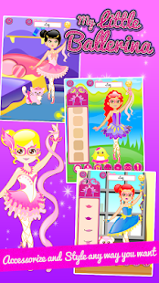 Ballerina Fashion Dressup- screenshot thumbnail