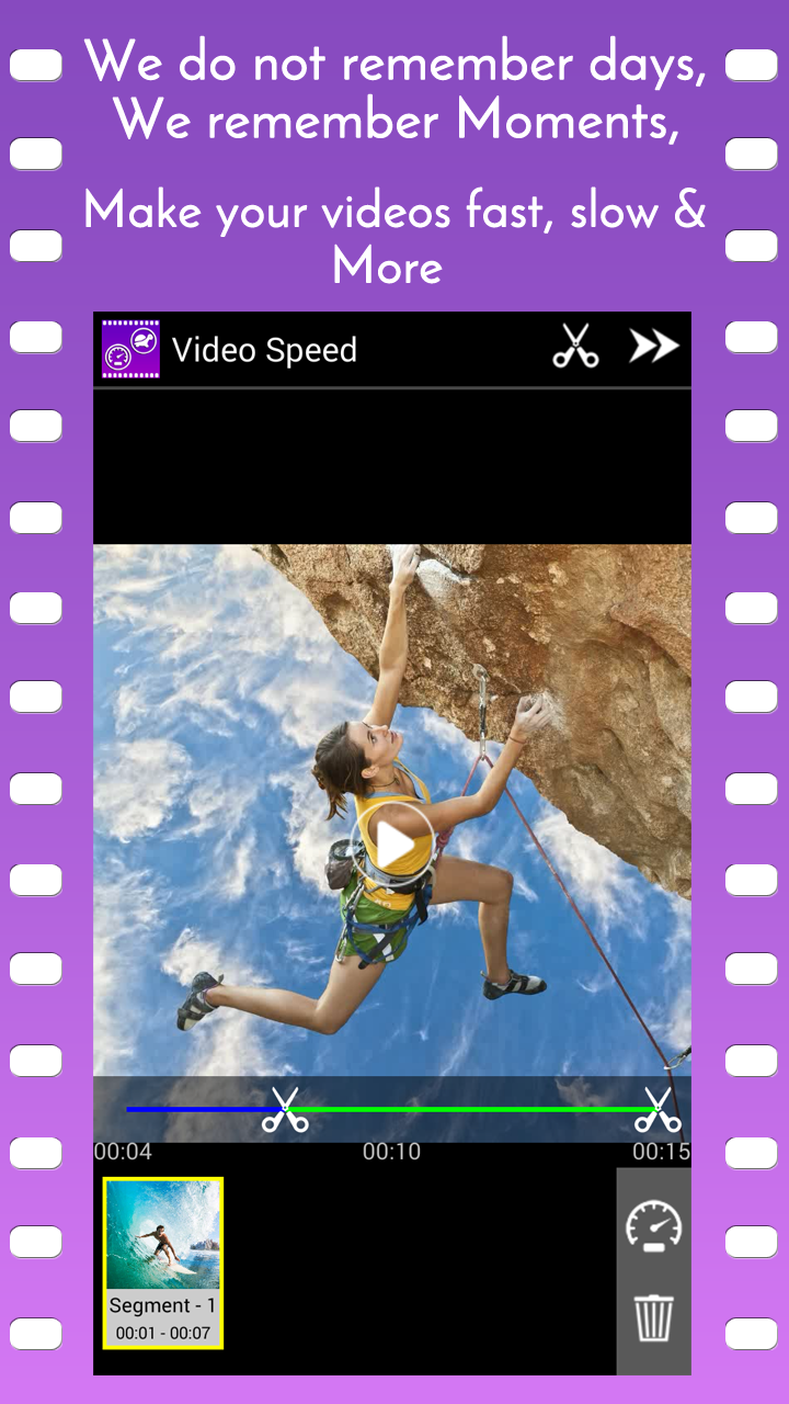 Video Speed Slow Motion & Fast Screenshot