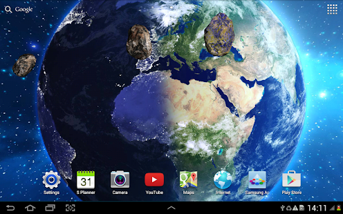 hd space live wallpaper android apps on google play