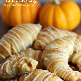Pumpkin Pie Crescents