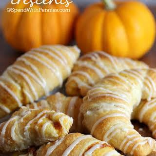 Pumpkin Pie Crescents.