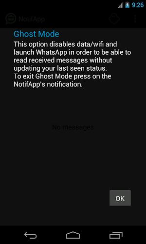 NotifApp for WhatsApp 1.6.0   app screenshot