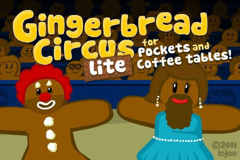 Gingerbread Circus LITE- screenshot