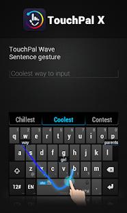Italian TouchPal Keyboard