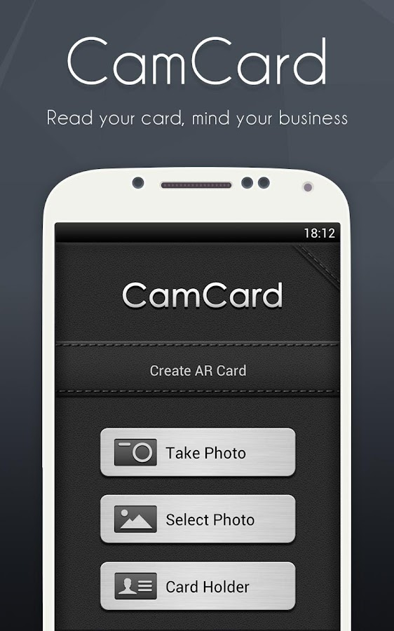 CamCard Free - Business Card R - screenshot