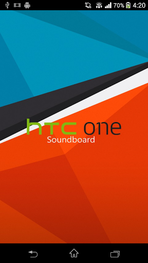 HTC One Soundboard