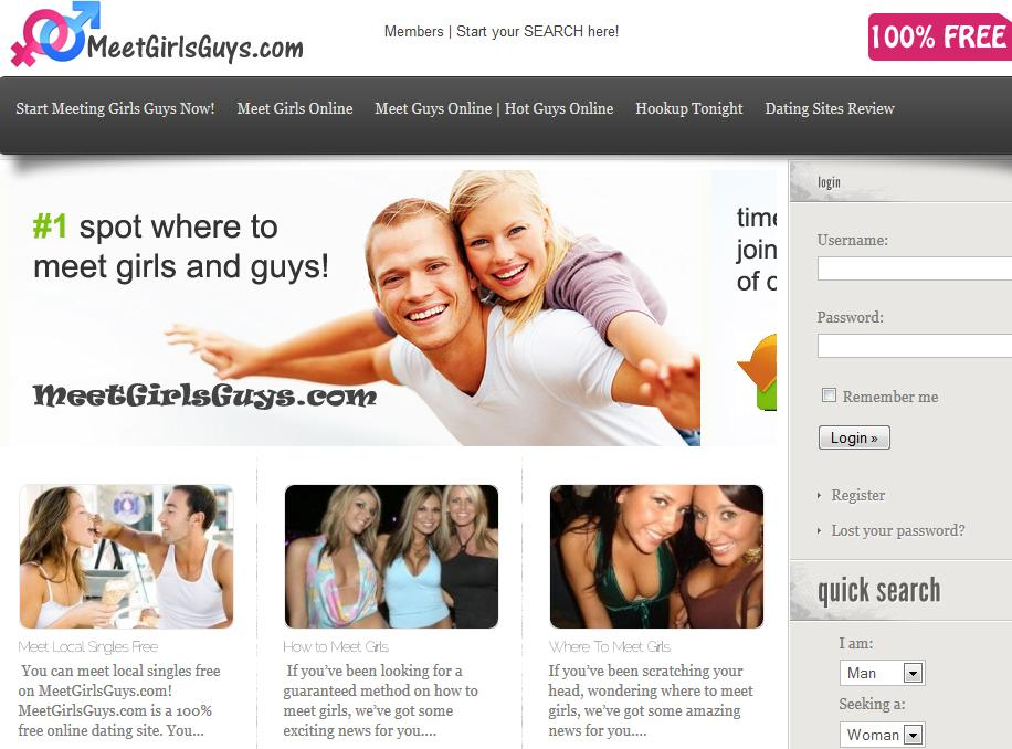Meet Girls Free Mobile Dating - screenshot