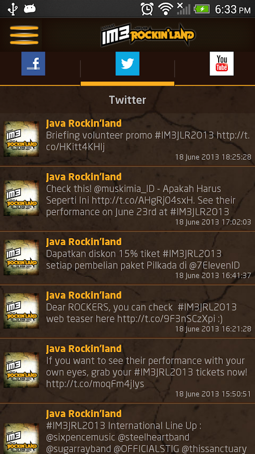 IM3 Java Rockin'Land- screenshot
