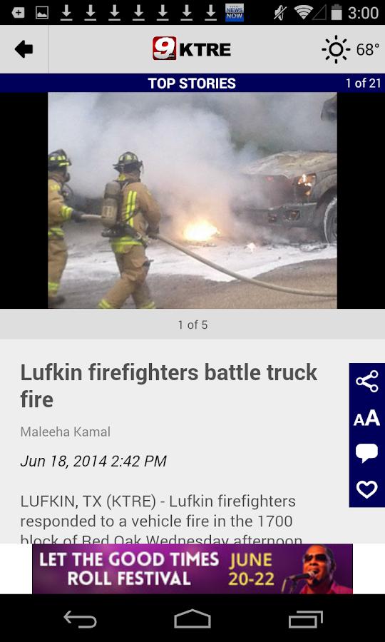 KTRE 9 Local News - screenshot
