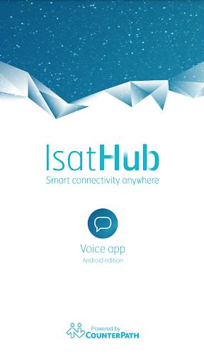 IsatHub Voice App