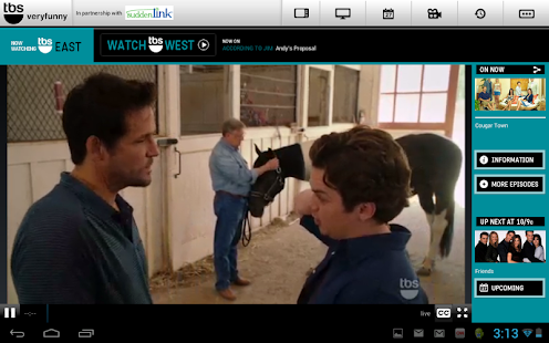 WATCH TBS for Tablets - screenshot thumbnail