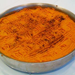 Sweet Potato Shepherds Pie.