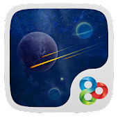 Magic Space GO Launcher Theme