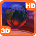 Virtual News Studio Globe 3D