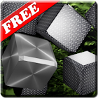 Metallic Cubes LWP FREE icon
