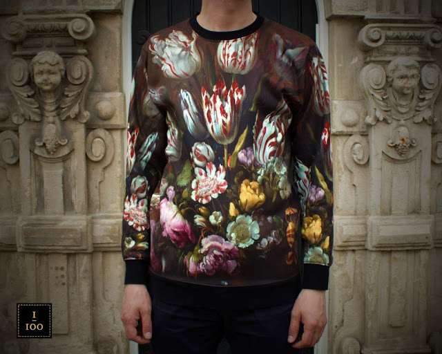 Stillife with Flowers Sweater