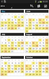 Business Calendar Pro Screenshot 5