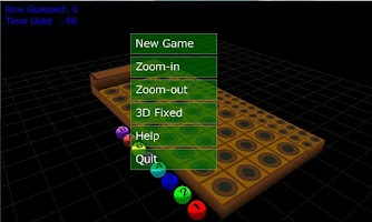 Screenshot of 3D Mastermind