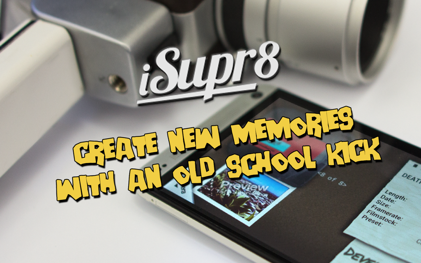 iSupr8 Vintage Super 8 Camera- screenshot