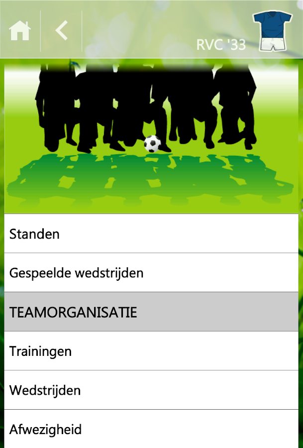 Voetbal Club 2000 - screenshot