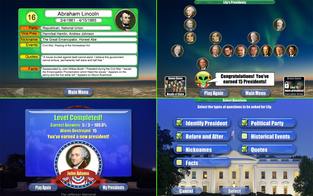 Presidents vs. Aliens™ - screenshot