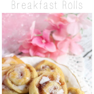 Mini Strawberry Breakfast Rolls