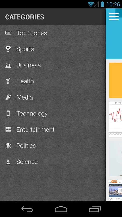 The News: Your News Reader App - screenshot