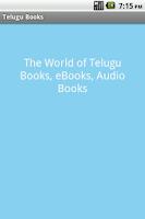 Screenshot of Telugu Books