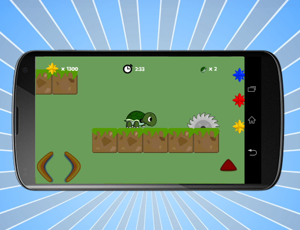 Turtle Slide Game- screenshot