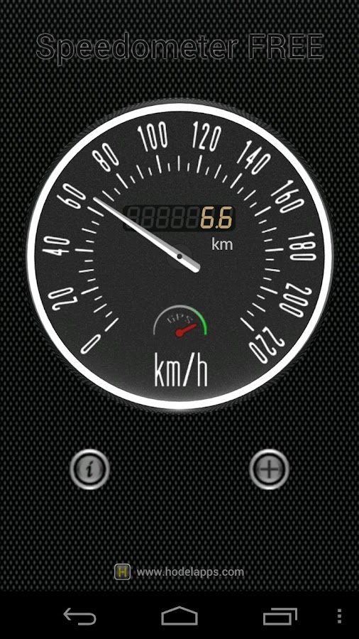Speedometer FREE - screenshot