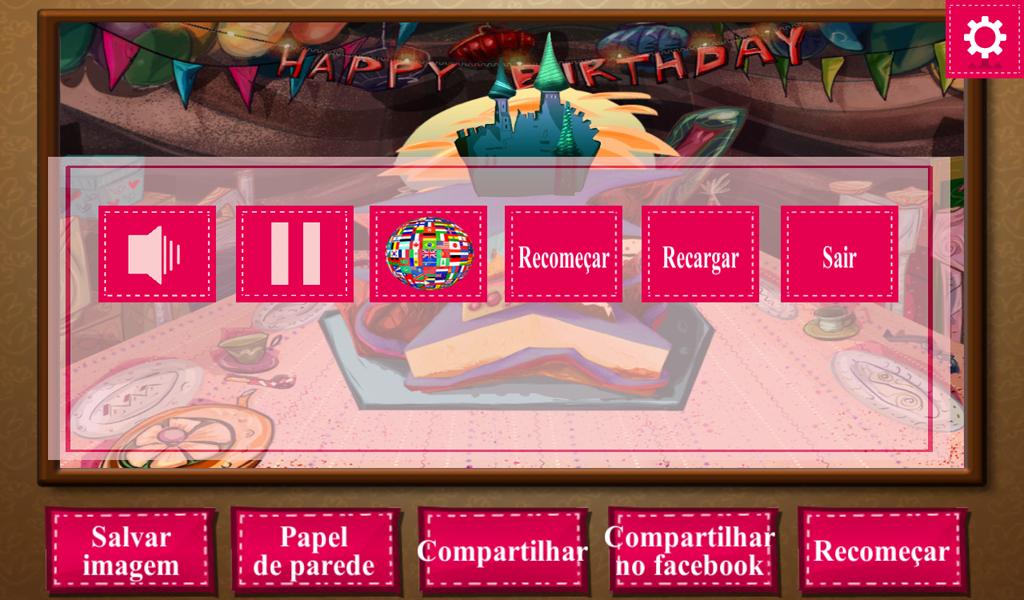 Bolo - Cozinhar Jogos - screenshot