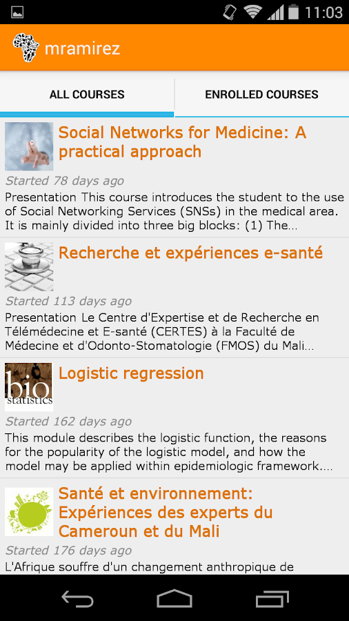 ABP Courses- screenshot