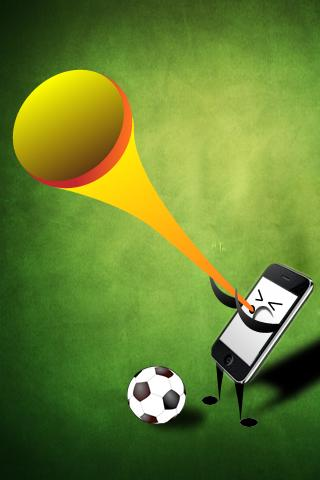 Vuvuzela World Cup Horn Plus - screenshot