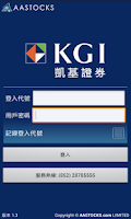 Screenshot of KGI HK Mobile Trader(AAStocks)