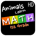 Animals Learn Math First Grade icon