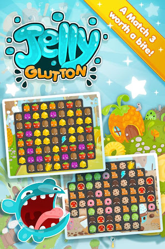Jelly Glutton - Candy puzzle