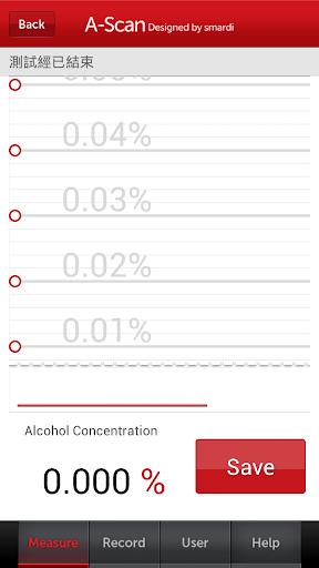 A-Scan(飲酒/酒精測試器 健康 App-癮科技App
