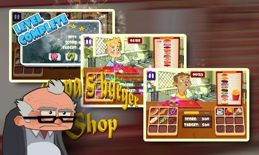 Papa's Burger Shop - screenshot thumbnail