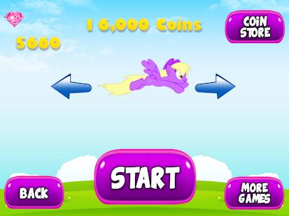 Flying Little Unicorn Pony 2