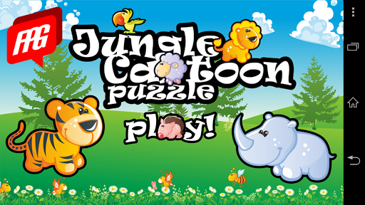 Jungle Cartoon Puzzle