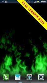 Flames Live Wallpaper (free) Screenshot 4