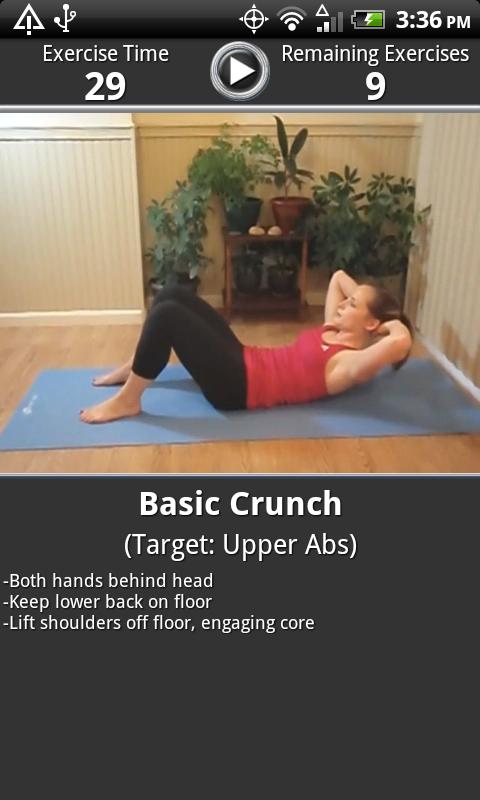 Daily Ab Workout FREE - screenshot