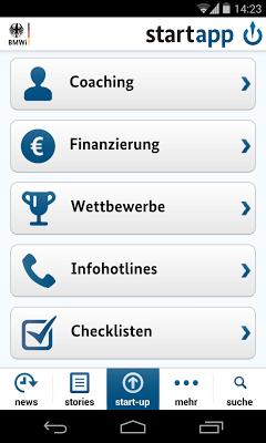 Start-App - screenshot