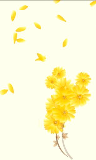 Gentle Daisies Live Wallpaper