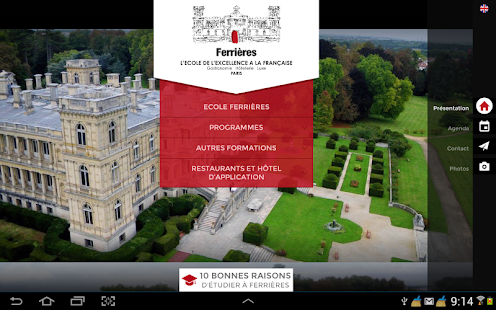 Ecole Ferrières screenshot