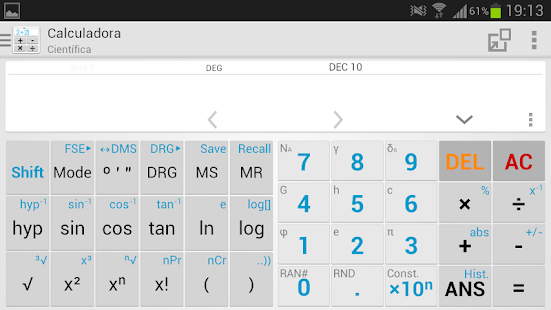 Expert Calculator Free - screenshot thumbnail