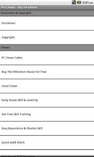 Pro Cheats - Skyrim Edition